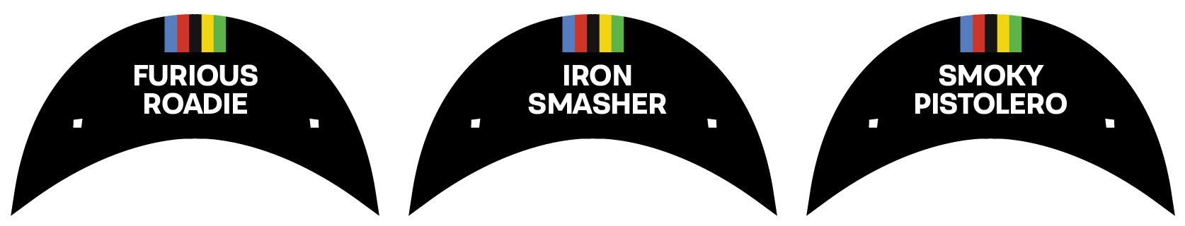 RIDER NAME CYCLING CAP