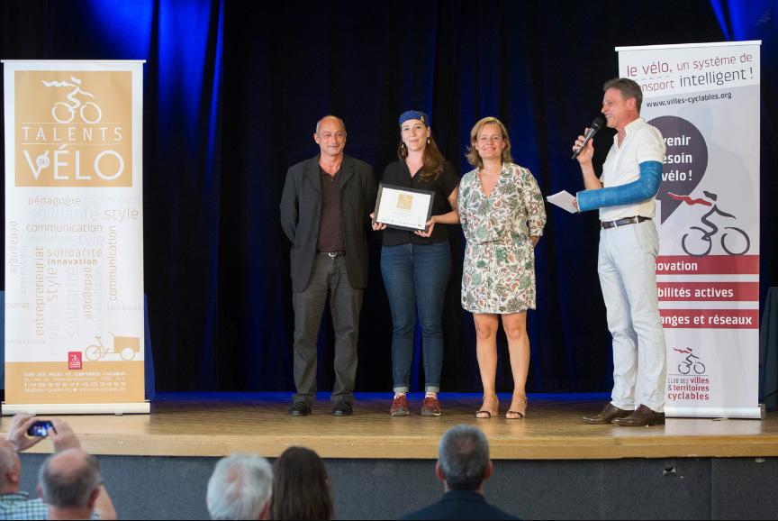 Talents du Vélo 2019 Vera Cycling remise de prix