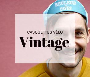 Casquettes vélo Vintage