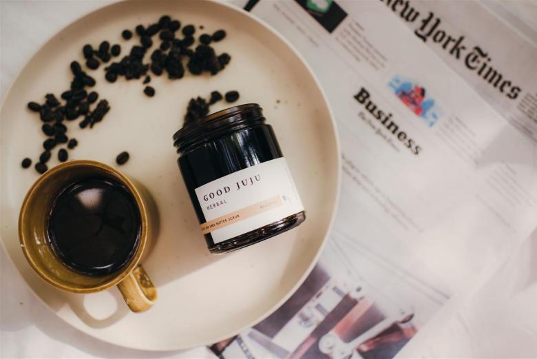 GOOD-JUJU-HERBAL-Coffee-and-Shea-Butter-Body-Scrub