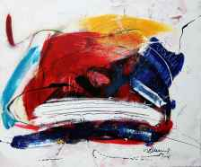 Bild No. 337 Acryl auf Leinwand Format: 50x 60 cm