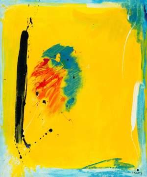 SOLD/ Verkauft No. 306 Acrylic painting on canvas 100x 120 cm