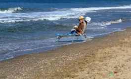 ...auch so kann man am Meer entspannen :-)