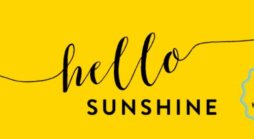 Hello sunshine Blanvalet Verlag