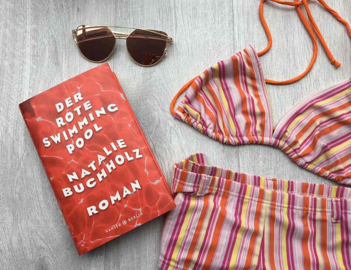 Buch der rote Swimmingpool