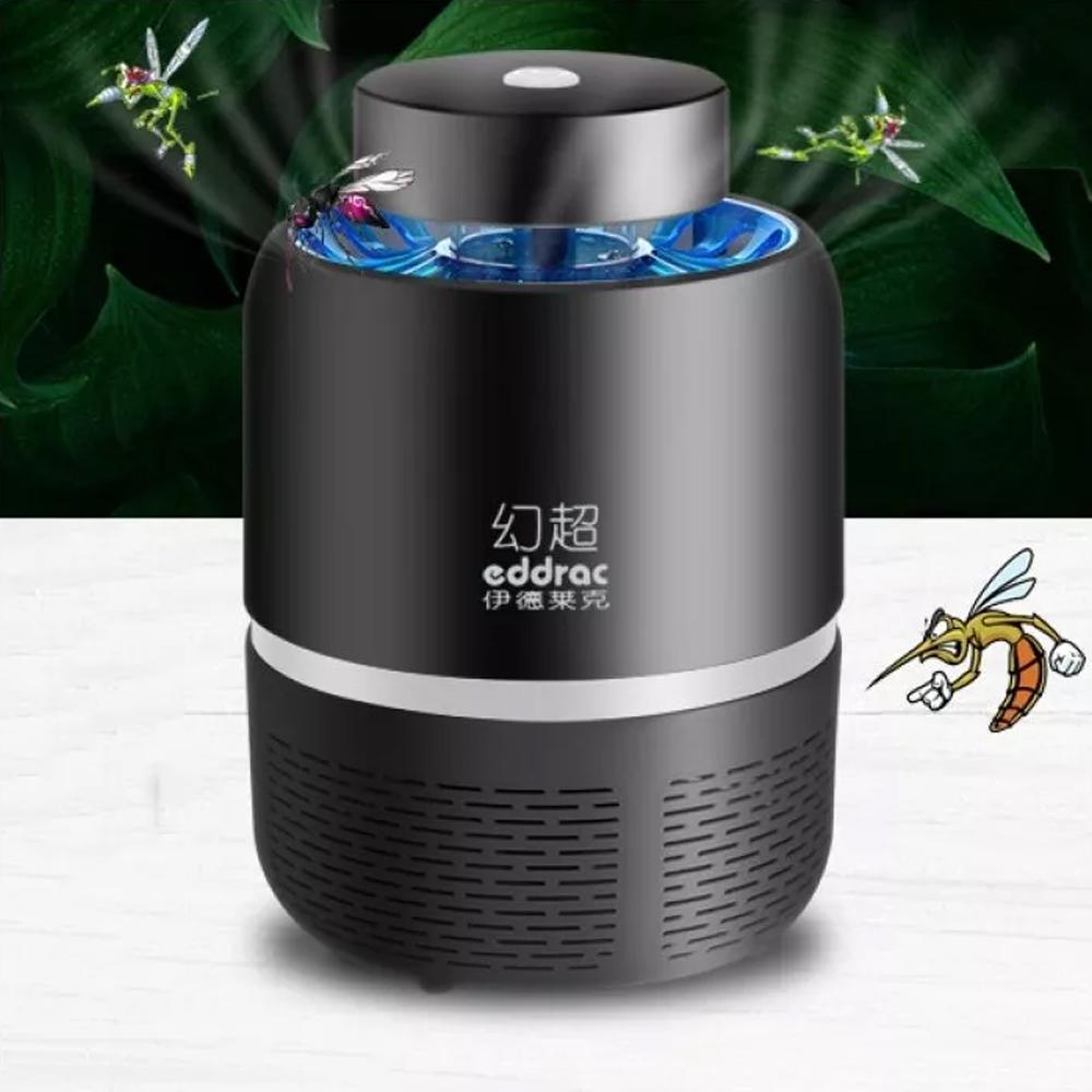 Lámpara Led Noche Mata Mosquitos Control Plaga Usb Eddrac