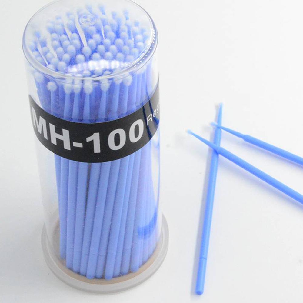 Micro-cepillo Para Extensión De Pestañas Mh-100 Bote