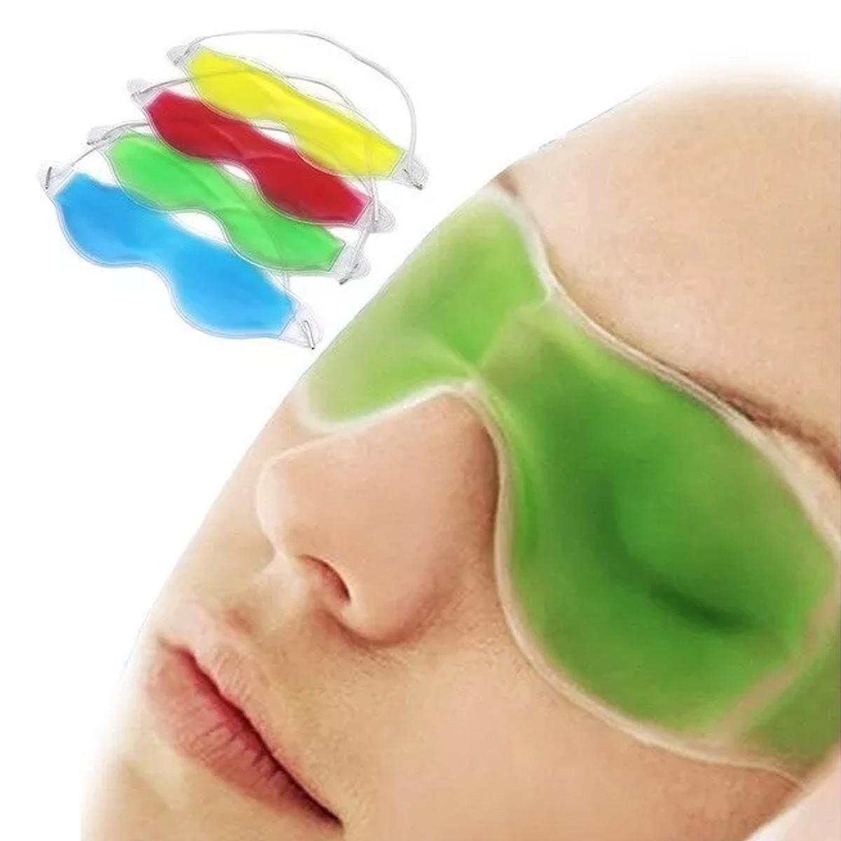 Antifaz De Gel Térmico Para Ojos Migraña Ojeras Descansa