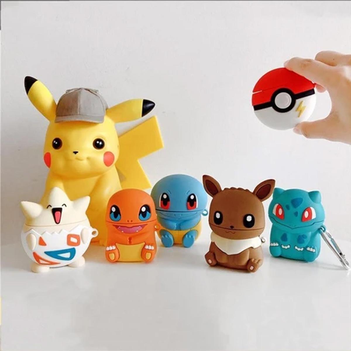 Funda Case Protectora Para Airpods Pro De Personajes Pokemon