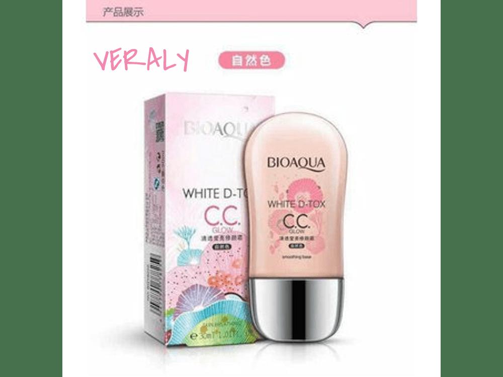 Bioaqua Cc Cream Maquillaje Corrige Hidrata Protege (Rosa)