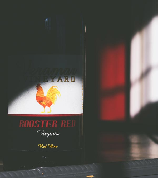 "NV ""Rooster Red"" / bottle"