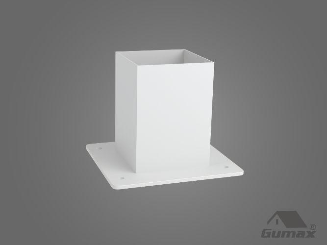 Gumax terrasoverkapping - staander modern mat creme
