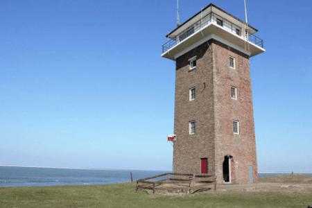 Kustwachttoren aan zee te huur
