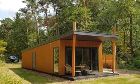 vakantiehuisje met sauna Overijssel