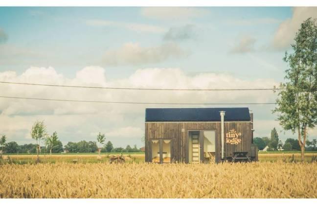 tiny house off-gridd huren Belgie