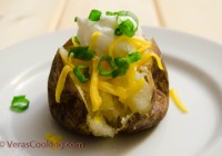 Baked Potatoes/ Vera's Cooking/ Verasooking.com/