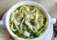 Chicken Soup/ Chicken Noodle Soup/ Vera's Cooking/ Verascooking.com