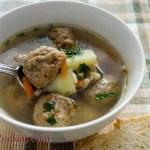 Soup with Meatballs/ Vera's Cooking/ Verascooking.com