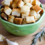 Croutons/Homemade Croutons/ Vera's Cooking/ Verascooking.com/
