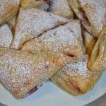 Raspberry Turnovers/ Vera's Cooking/ Verascooking.com/