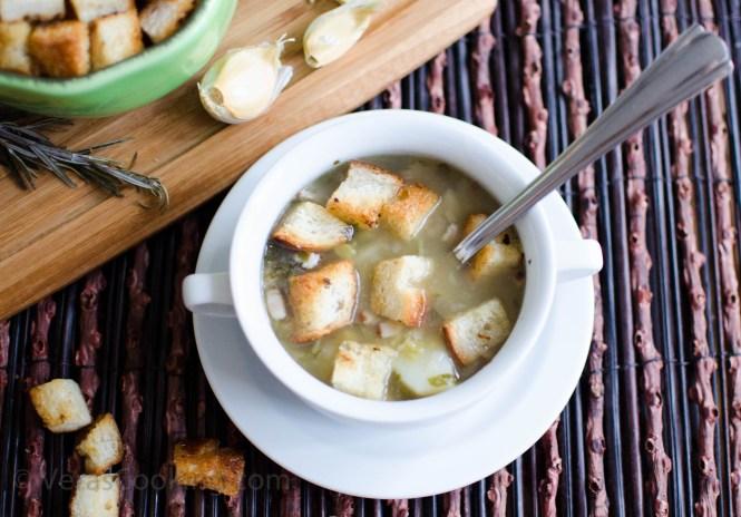 Split Pea Soup/ Гороховый суп/ Vera's Cooking/ Verascooking.com/