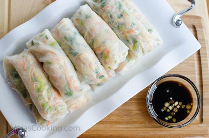 Vietnamese Spring Rolls/ Asian/ Gỏi cuốn/ Vera's Cooking/ Verascooking.com/