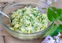 Green Onion Salad/ Vera's Cooking/ Verascooking.com/