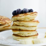 Buttermilk Pancakes/ Pancakes/ Breakfast/ Vera's Cooking/ Verascooking.com/