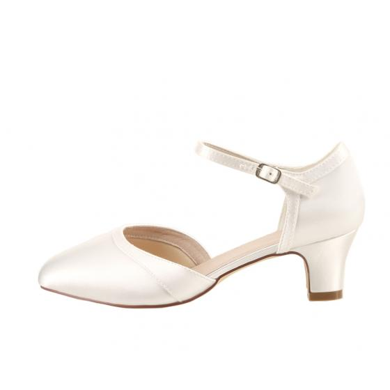 Ingrid Satin ivory EXTRA SOFT gepolstert Brautschuhe Perfect Bridal