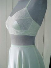 Bra based on late 30's/early 40's original