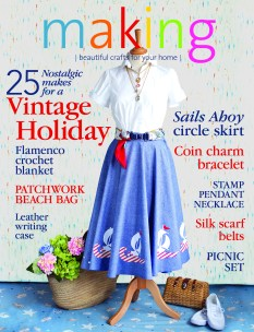 Sails Ahoy making Magazine cover