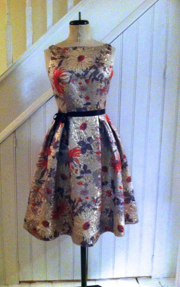 50's style party frock