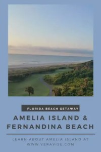 Pinterest Image for Guide to Amelia Island & Fernandina Beach