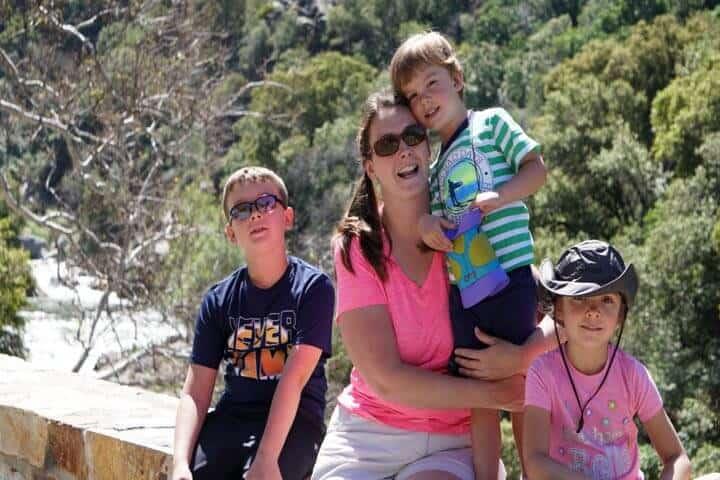 Image of Mom and Kids