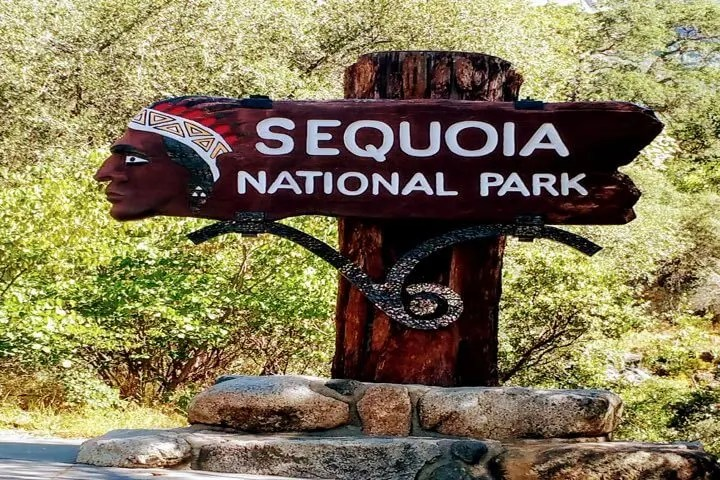 Image of Indian Head Entrance Sequoia National Park