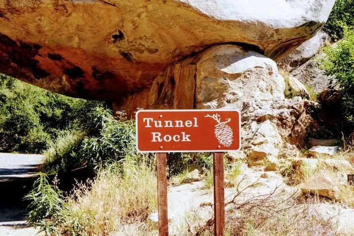 Image of Tunnel Rock Sign