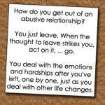 How I Left An Abusive Relationship Interview