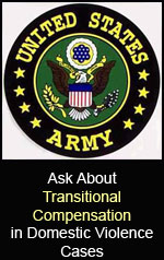 Army and Domestic Violence - soldiers lose their careers if they're found guilty in criminal court. This isn't the first option chosen. Go to the Army DSS.