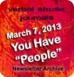 "You Have ""People"" – March 7, 2013"