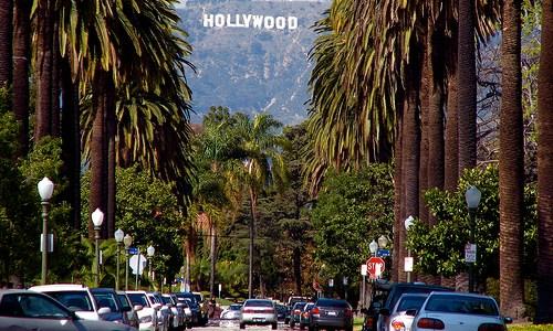 Senoviti bulevar u Los Anđelesu
