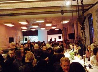 Sage restoran u Berlinu, noću