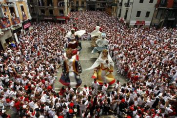 Festival na ulicama Pamplone