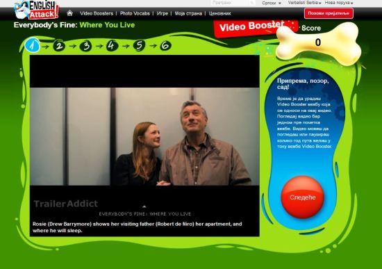 Engleski za početnike - Robert de Niro u filmu Everybody's Fine, Verbalisti on English Attack!