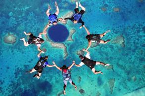 The Great Blue Hole u Belizeu