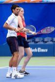 Novak Djokovic i Missy Franklin