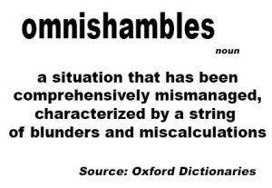 Rec godine - omnishambles