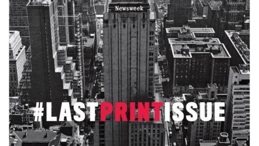 Newsweek poslednja naslovna strana izdanja