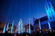Brisel, Belgija, novogodisnja atmosfera