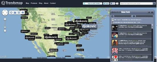 Djokovic tviterovanje u Americi