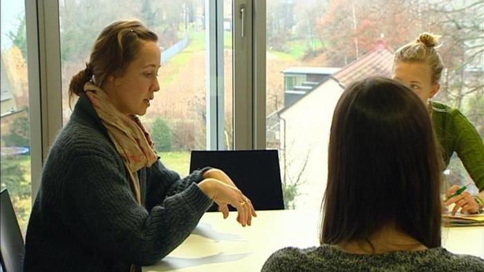 Deutsch lernen - Verbalisti, video thema Karriere mit Engagement